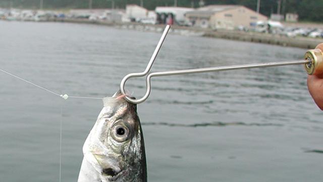 魚を逃がさない形状