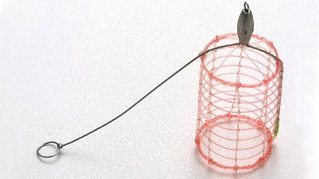水中負荷が軽いナイロン手編み